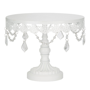 Crystal-Draped Cake Stand Hire Gold Coast & Brisbane