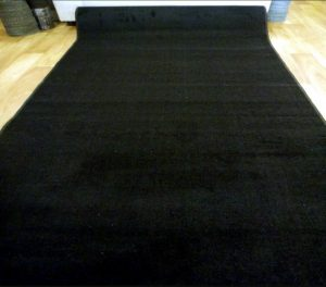 Black carpet runner for events in Gold Coast and Brisbane