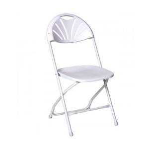 Plastic Fan-back Chair