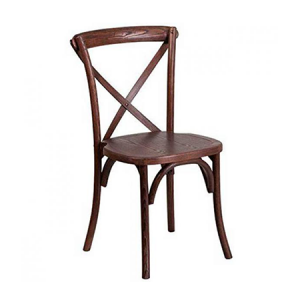 Timber Cross Backchairs Hire in Gold Coast