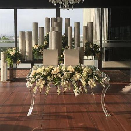 Dance Floor Tiles with flowers