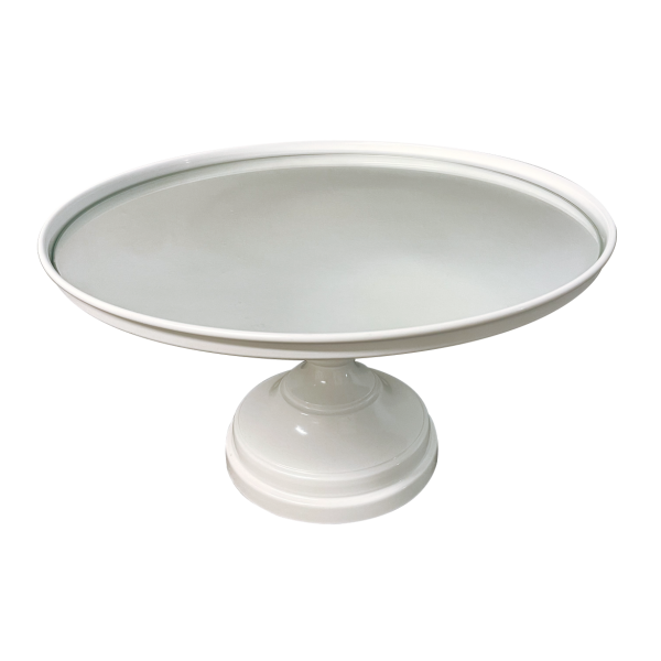 Mirror-Top Cake Stand