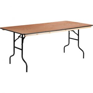 5 ft plywood trestle table