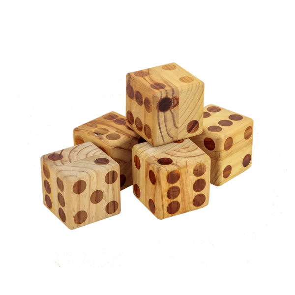 Giant Wooden Dice Game Hire Gold Coast & Brisbane