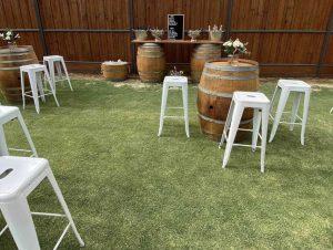 Wine Barrel Action bar furniture brisbane