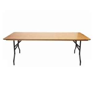 6ft Plywood Trestle Table